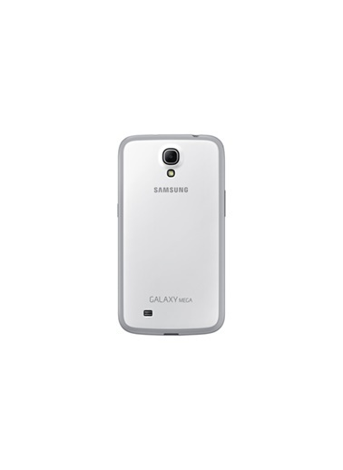 Samsung Samsung I9200 Galaxy Mega Orjinal Protective Cover Kılıf - Beyaz - Ef-Pi920Bwegww Renkli